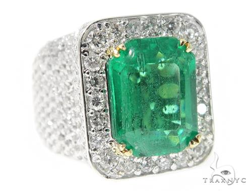 Emerald Diamond Anniversary/Fashion Ring 49424 Anniversary/Fashion