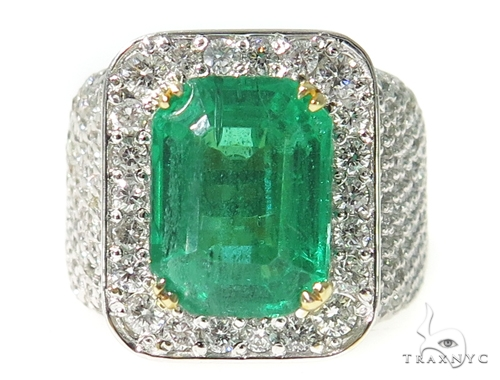Emerald Diamond Anniversary/Fashion Ring 49424 Anniversary/Fashion