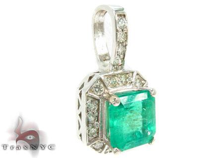 Emerald Dream Catcher Necklace Gemstone