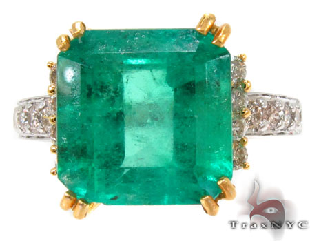 Emerald Jada Ring 0.54 ct