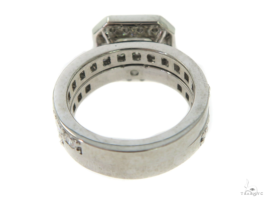 Eris Diamond Engagement Ring Set 49764 Engagement