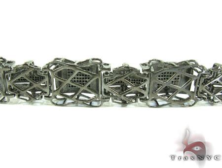 Execution Silver Diamond Bracelet 26102 Silver