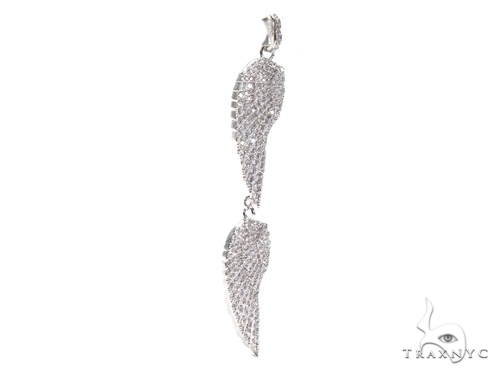 Feather Sterling Silver Charm 41145 Metal