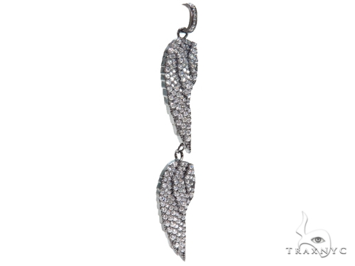 Feather Sterling Silver Charm 41148 Metal