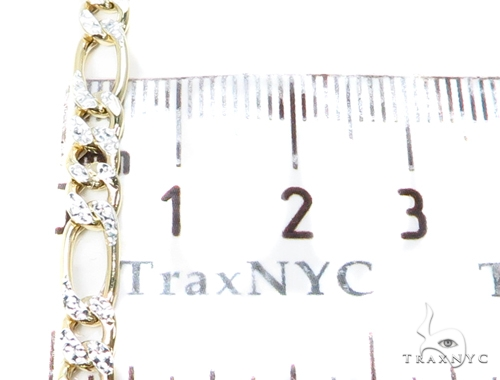 Figaro Silver n 22 Inches 5mm 8.3 Grams 40602 Silver