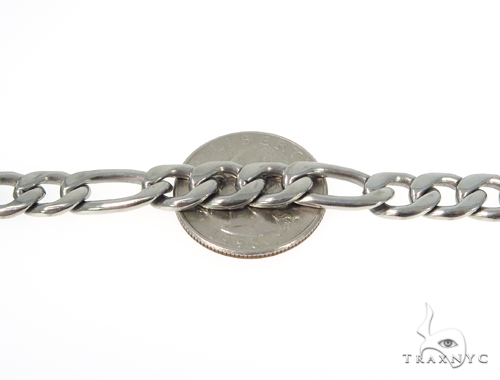 Figaro Stainless Steel n 30 Inches 9mm 70 Grams 45232 Stainless Steel