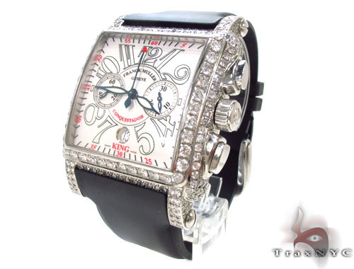 Franck Muller King Cortez Chronograph Diamond Watch Franck Muller