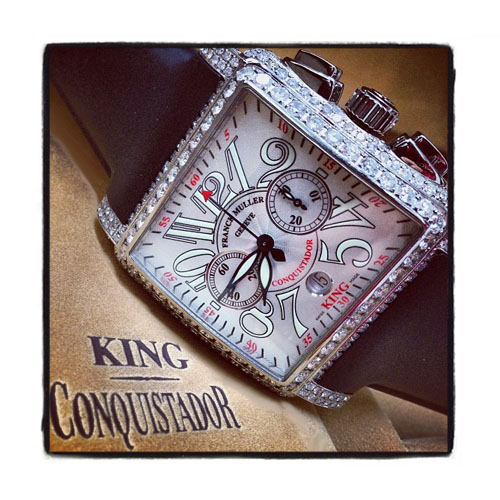 Franck Muller King Cortez Chronograph Diamond Watch Franck Muller フランクミュラー