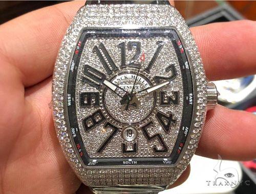 Franck Muller Vanguard Diamond Case & Dial 64714 Franck Muller フランクミュラー
