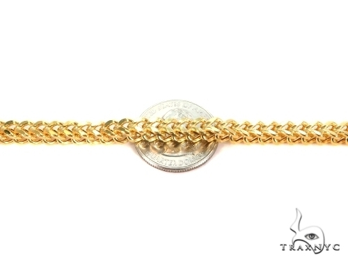 Franco Gold Chain 26 Inches 3mm 28.8 Grams 49526 Gold