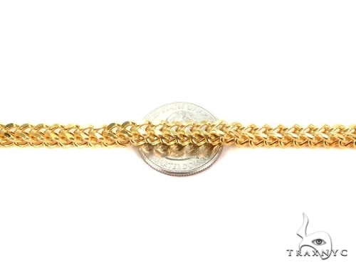 Franco Gold Chain 28 Inches 3mm 31.02 Grams 49527 Gold