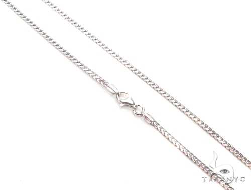 Franco Silver Chain 24 Inches 2mm 16.30 Grams 43347 Silver
