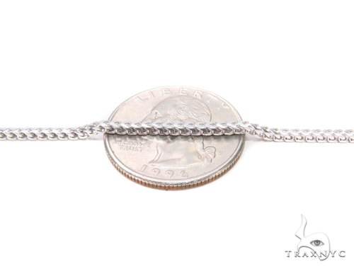 Franco Silver Chain 24 Inches 2mm 16.30 Grams 43347 Silver