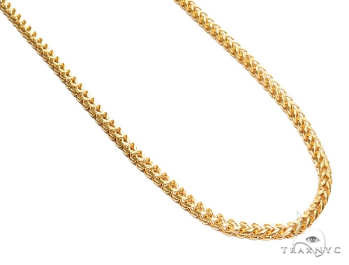 Franco Stainless Steel Chain 24 Inches 5mm 73.3 Grams 43801 Stainless Steel