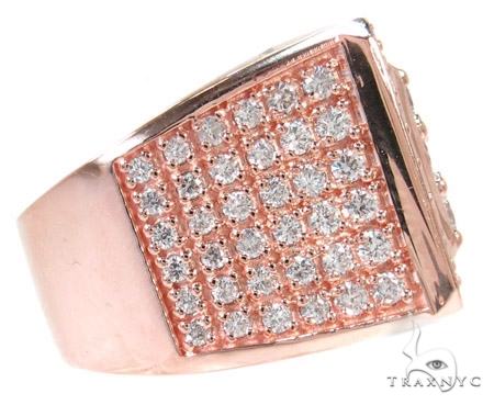 Freeze 10k Rose Gold Premiere Ring 45294 Stone