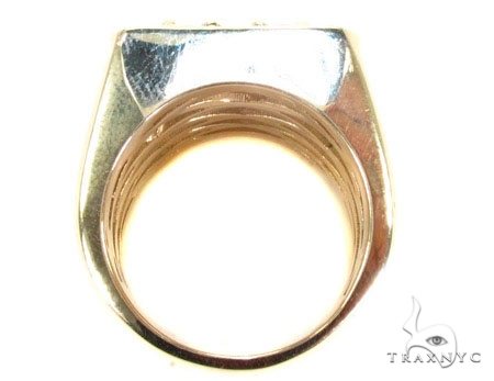 Freeze 10k Yellow Gold Premiere Ring Stone