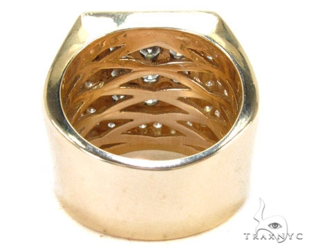 Freeze 14K Yellow Gold Premiere Ring Stone