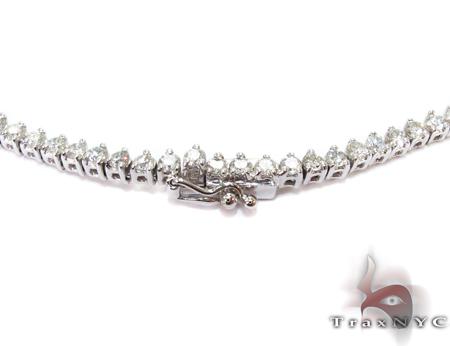 Freshwater White Gold Diamond Ladies Necklace Diamond