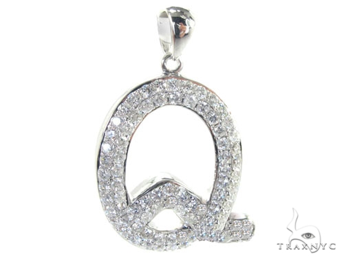Frozen Q Pendant Metal