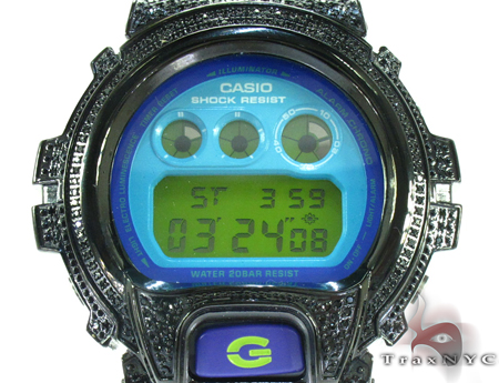 G-Shock Black Color CZ Case Watch DW-6900CS G-Shock