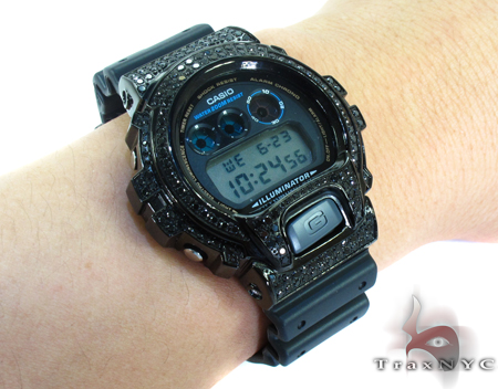 G-Shock Black Color CZ Case Watch DW6900 G-Shock