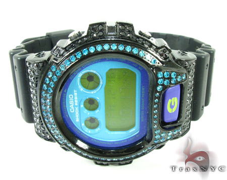 G-Shock Blue Color CZ Case Watch DW6900CS G-Shock