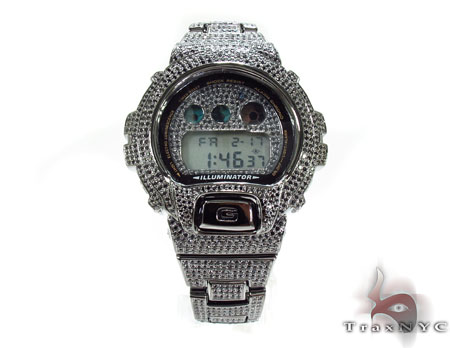 G-shock Fully Ice Black Color CZ Loaded Watch G-Shock