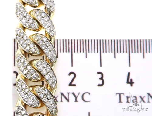 Gaston  Diamond Miami Cuban 30 Inches 15mm 364.2 Grams 49609 Diamond
