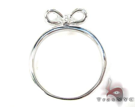 Girls Ribbon Gold Ring Anniversary/Fashion