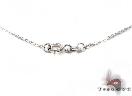 Glossy White Gold Necklace Gold