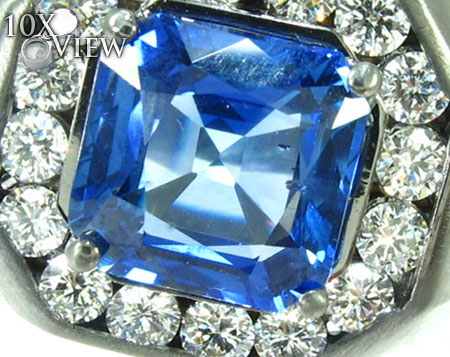 Mens Godfather Flawless Sapphire Ring Stone