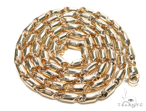 Gold Chain 28 Iches 4mm 30.6 Grams 42980 Gold