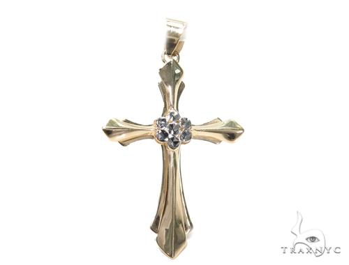 Gold Cross Pendant 42005 Gold Cross Pendant
