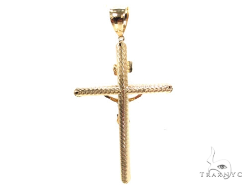 Gold Over Silver Cross 36494 Silver