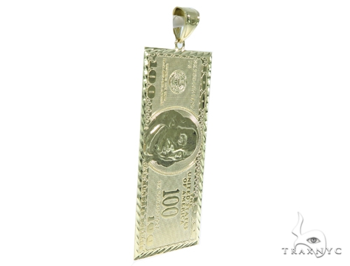 Golden Cash Gold Pendant 44922 Metal