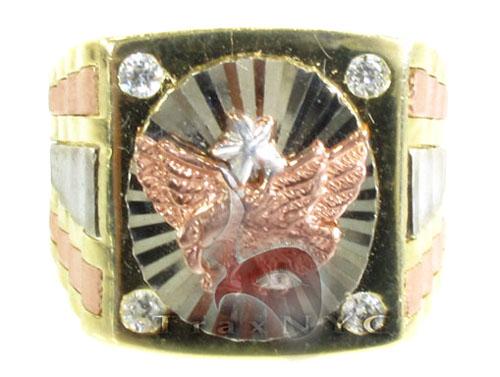 Golden Eagle Ring 3 Metal