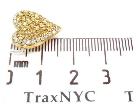 Golden Heart Pendant Style