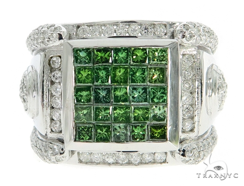Green King Ring Stone