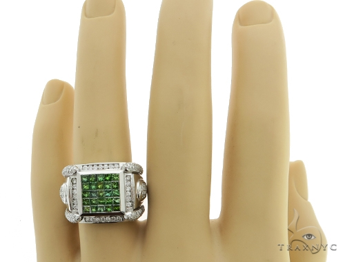 Green King Ring Stone