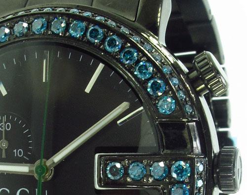 Gucci Blue Diamond 101M Watch Gucci
