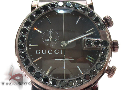 Gucci Dark Chocolate 101G Watch YA101341 Gucci