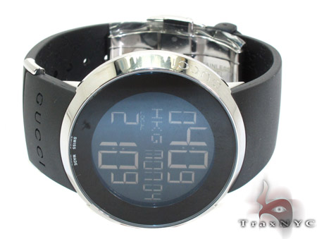 Gucci Digital Black Ladies Watch YA114401 Gucci