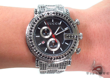 Gucci G-Chrono Black Diamond Watch YA101309 Gucci