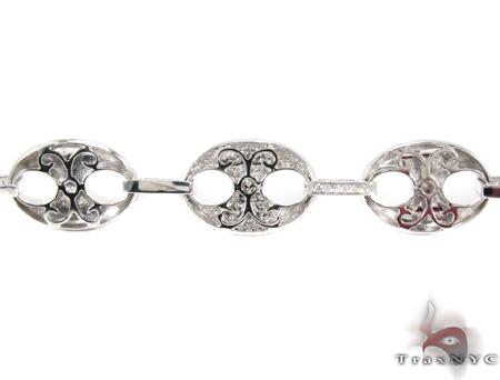 Gucci Link White Gold Diamond Bracelet Diamond