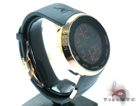 Gucci Special Edition Grammy Black & Gold Mens Digital Watch YA114215 Gucci