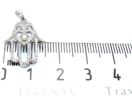 Hamsa Diamond Pendant Stone
