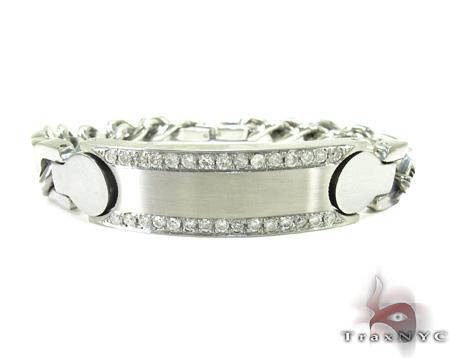 Handcuffs Diamond Bracelet Stainless Steel