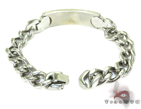 Handcuffs Diamond Bracelet Stainless Steel