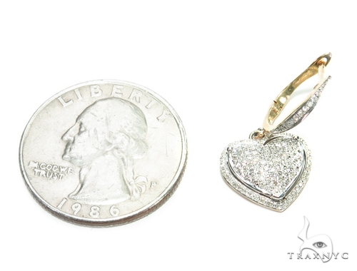 Heart Bell Prong 42591 Stone