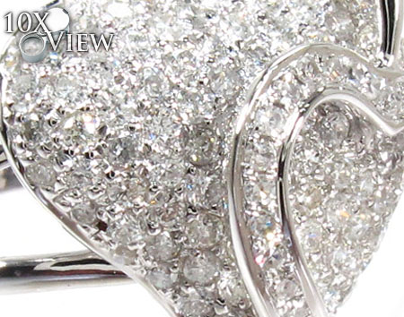 Heart Love Diamond Ring Anniversary/Fashion